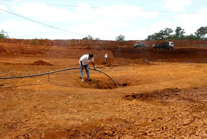 Severe droughts ravaging Dak Lak